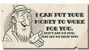 ترفند پانزی برای فریب سرمایه گذاران