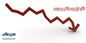 تاثیر نرخ بهره بانکی بر بورس