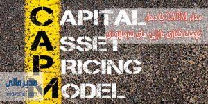 مدل CAPM یا مدل قیمت گذاری دارایی های سرمایه ای