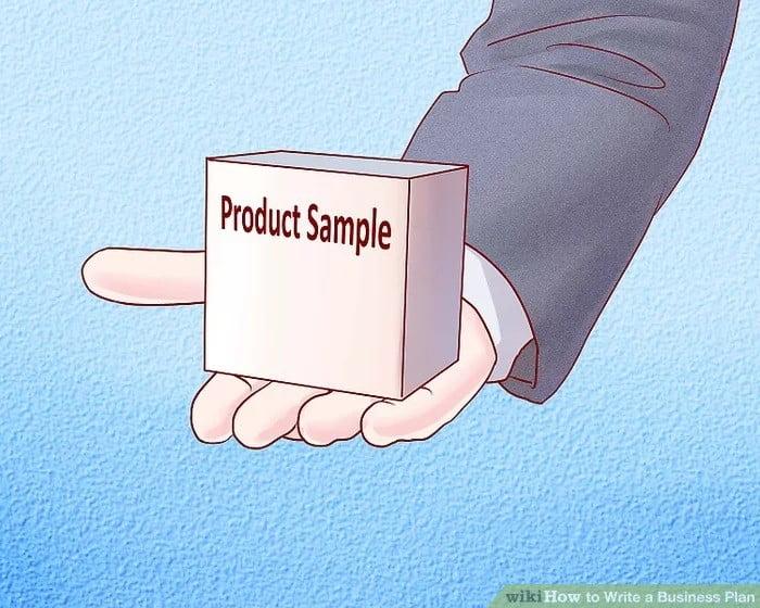 یک نمونه از محصول خود تولید کنید.